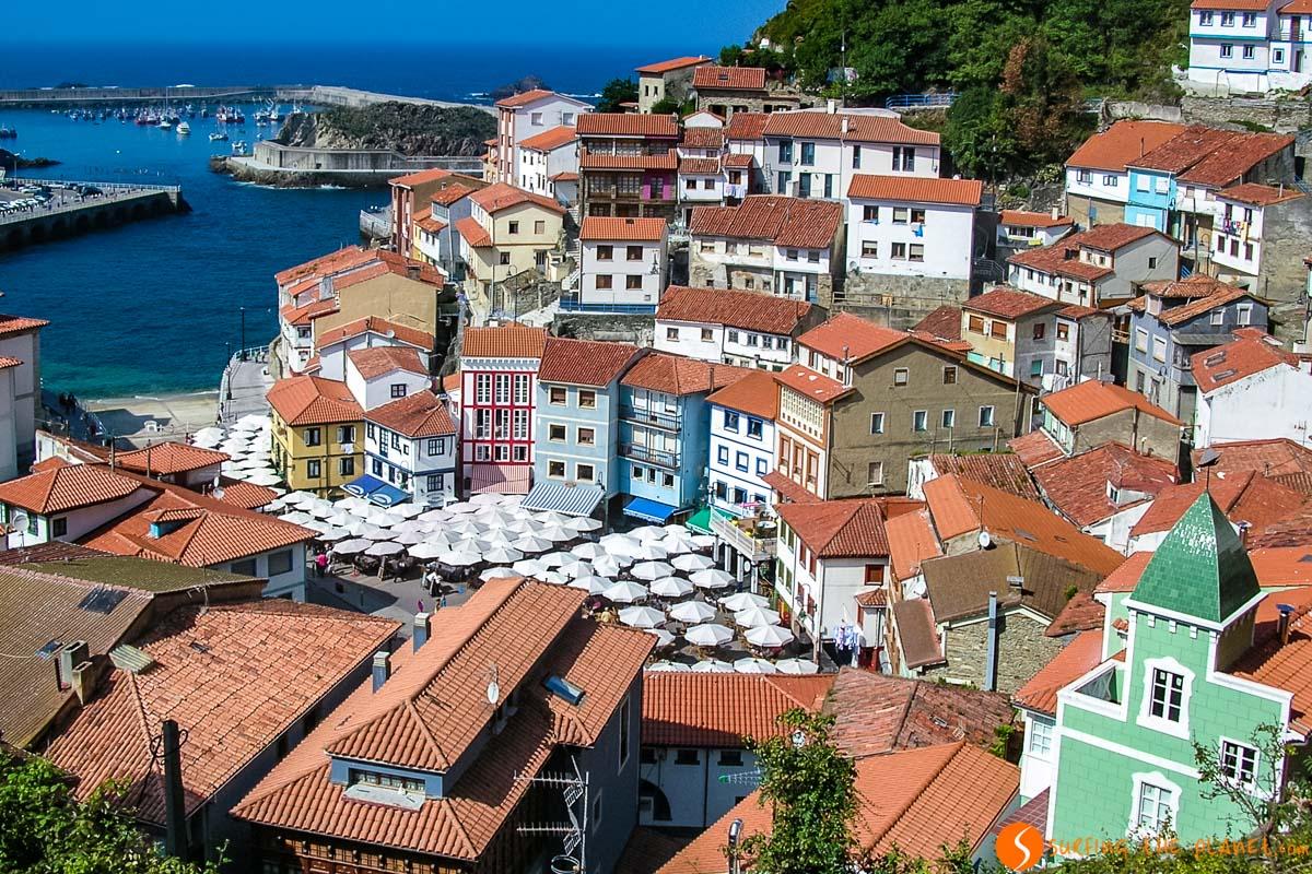 Vistas de Cudillero, Asturias