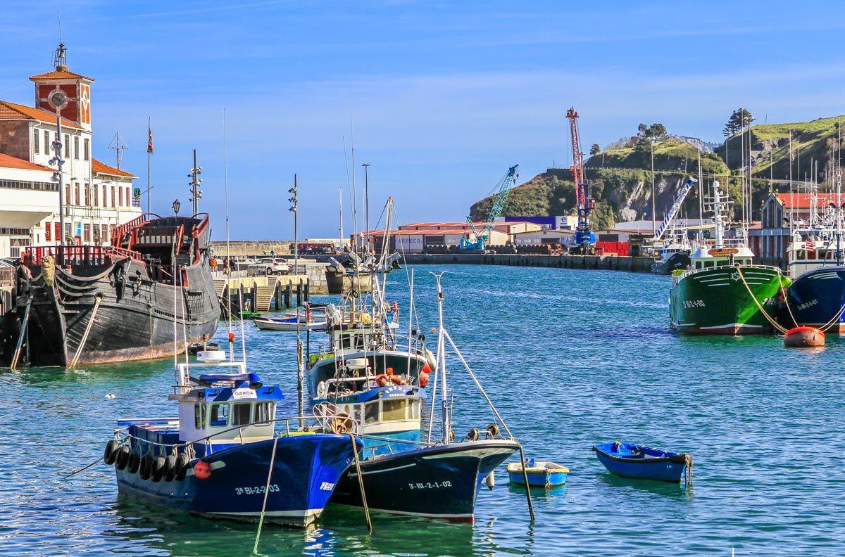 Barcos en el Puerto de Bermeo, Vizcaya, País Vasco |Qué ver en Bizkaia