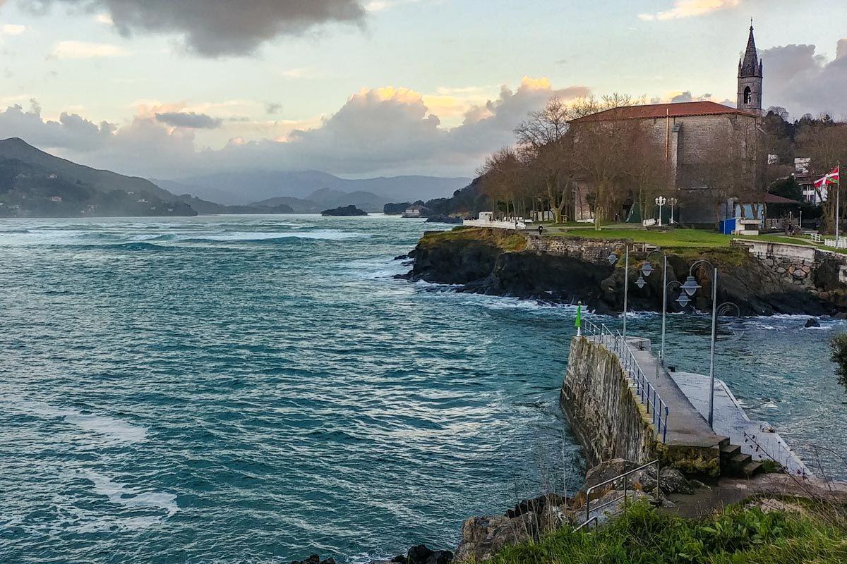 Costa de Mundaka, Vizcaya, País Vasco