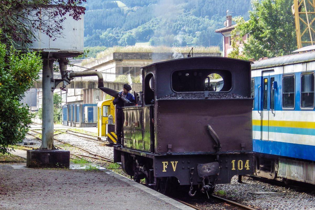 Museo de Ferrocarril, Azpeitia, Gipuzkoa, País Vasco