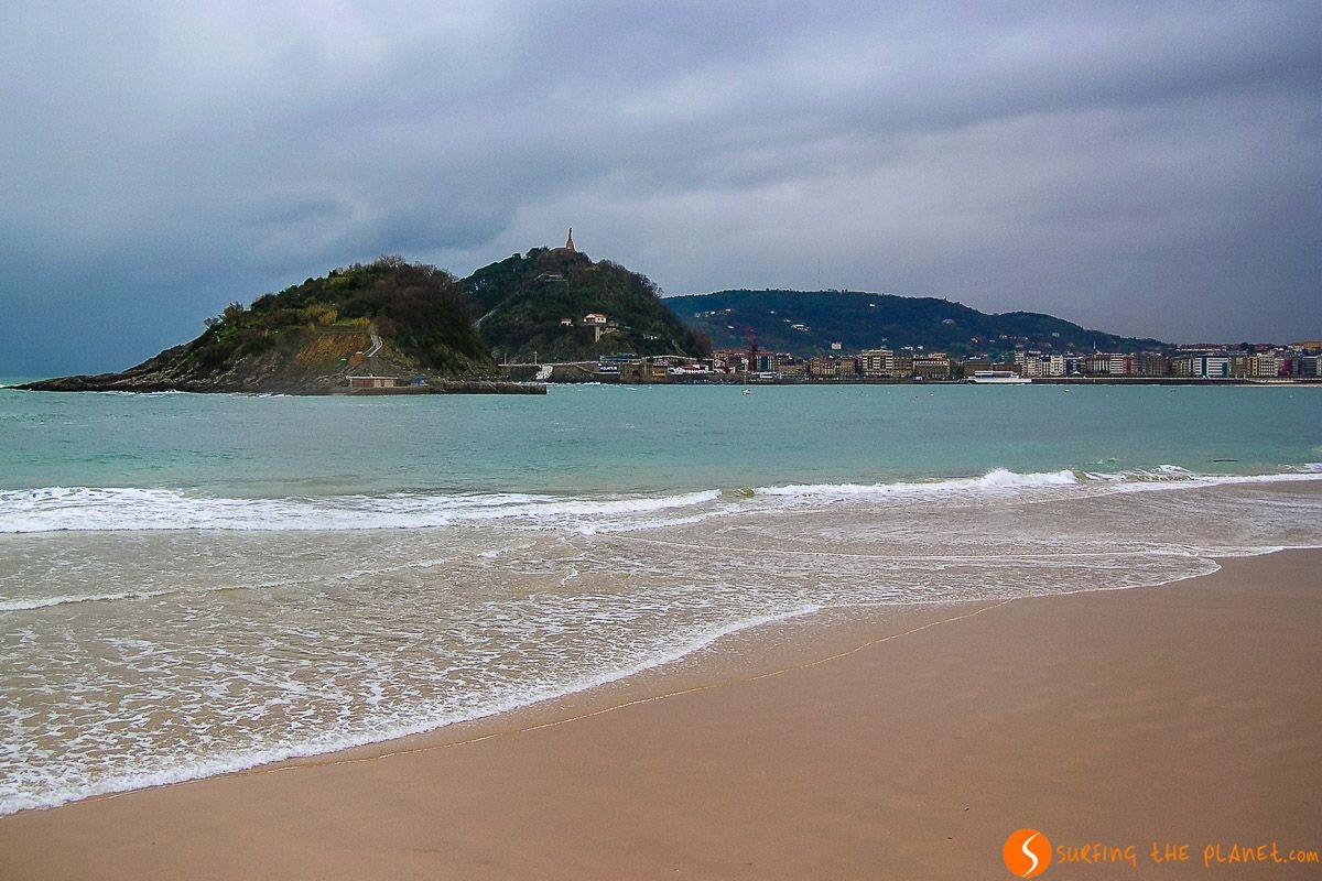 Playa de la Cocha, San Sebastián, Gipuzkoa, País Vasco