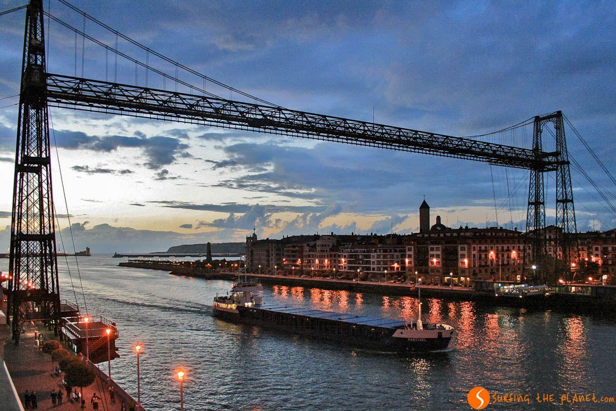 Puente de Vizcaya, Portugalete, País Vasco | Viajar al País Vasco