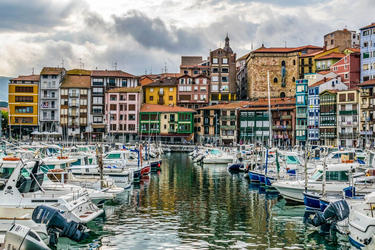 Puerto de Bermeo, Vizcaya, País Vasco