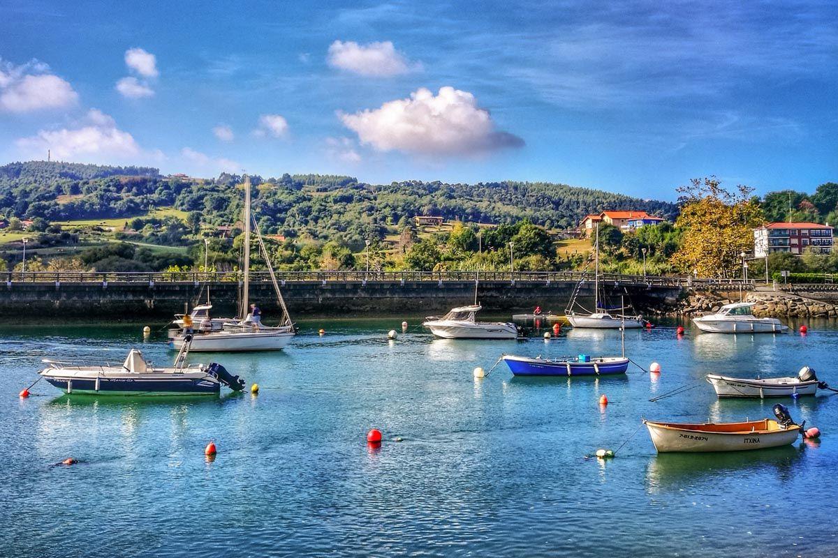 Puerto de Plentzia, Bizkaia, País Vasco