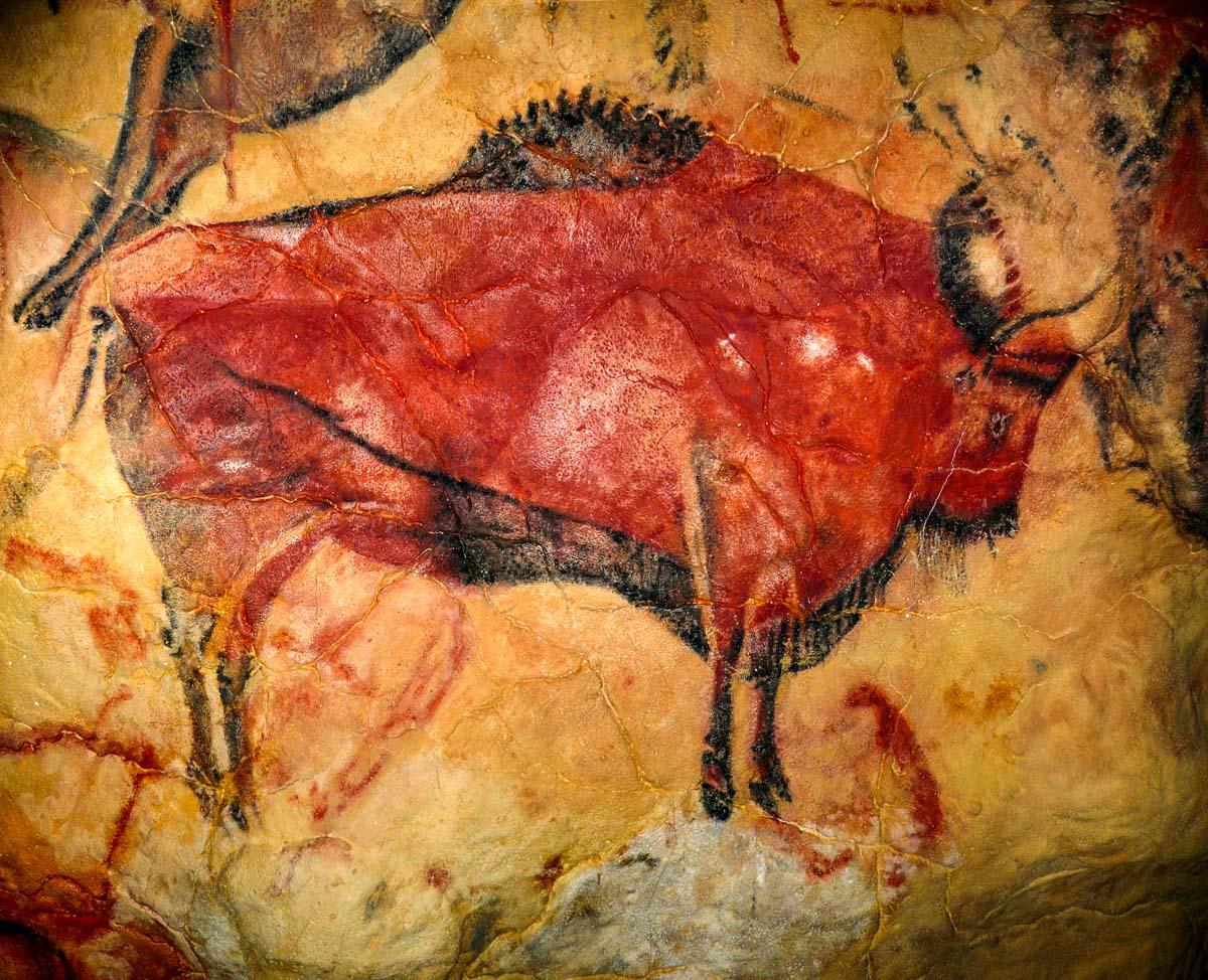 Pintura Rupestre, Cueva de Altamira, Cantabria | 50 imprescindibles que ver y hacer en Cantabria