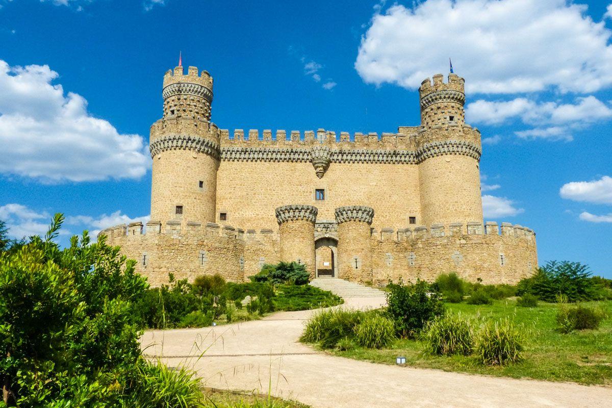 Castillo Manzanares El Real, Comunidad de Madrid