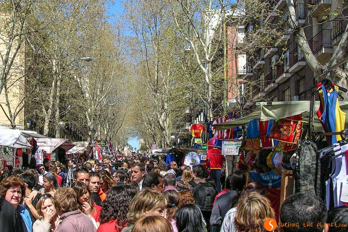 Mercadillo El Rastro, Madrid, España |Los 20 mejores free tours en Madrid