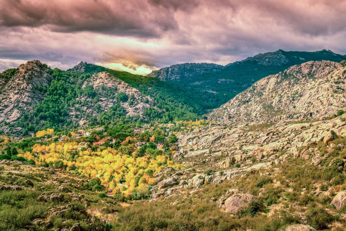 Sierra de Guadarrama, Comunidad de Madrid