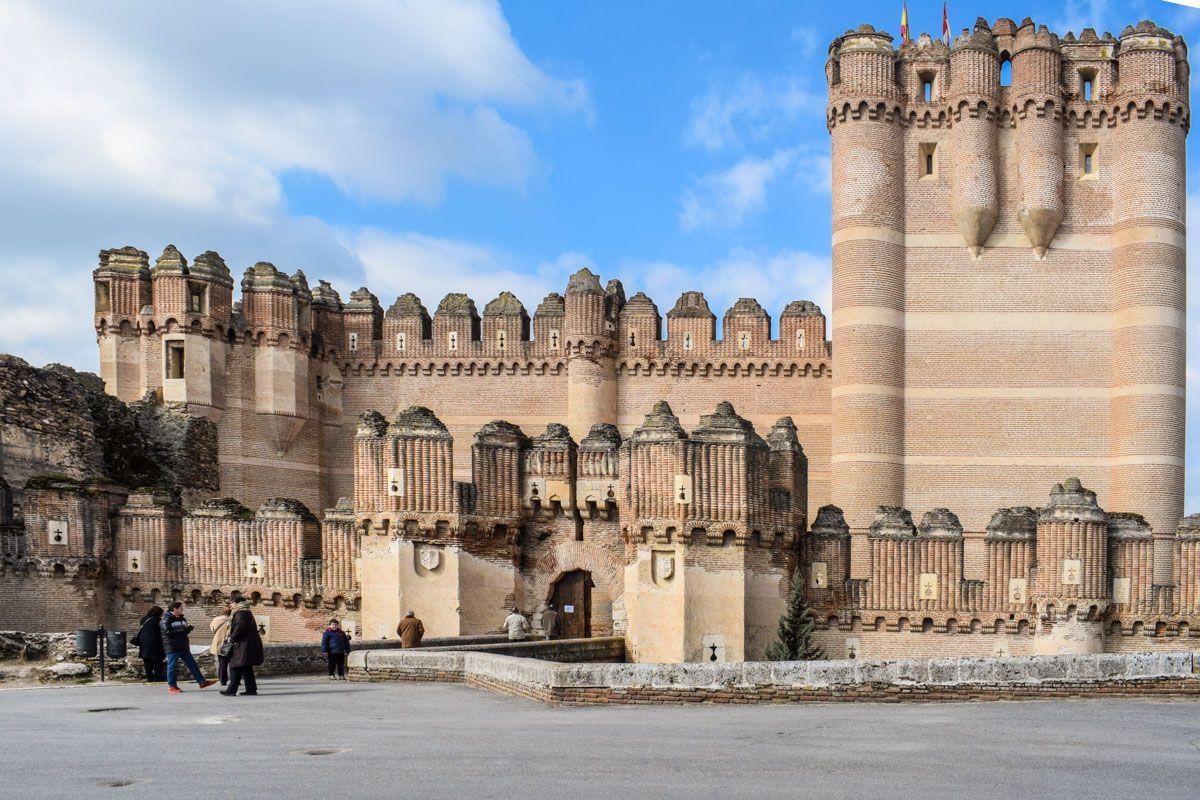 Castillo de Coca, Segovia, Castilla y León