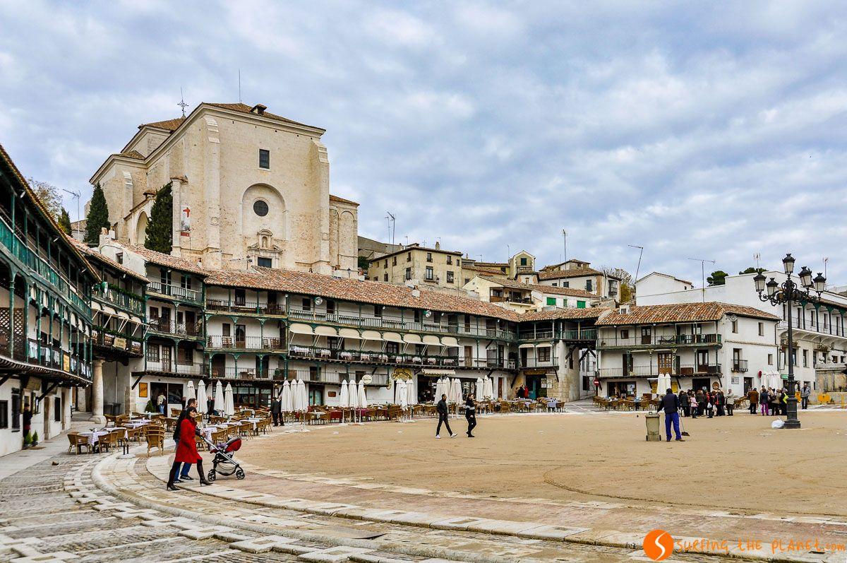 Plaza Mayor, Chinchón, Comunidad de Madrid
