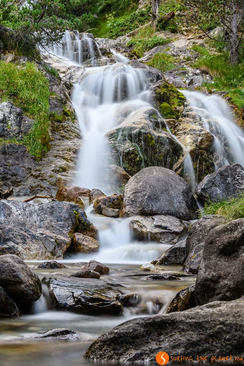 Cascada de Argualas, Valle de Ripera, Huesca, Aragón