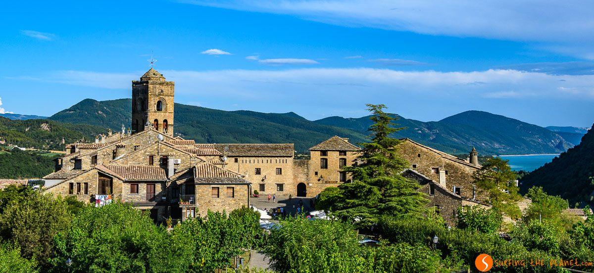 Casco antiguo, Aínsa, Huesca, Aragón  Pueblos bonitos de Huesca