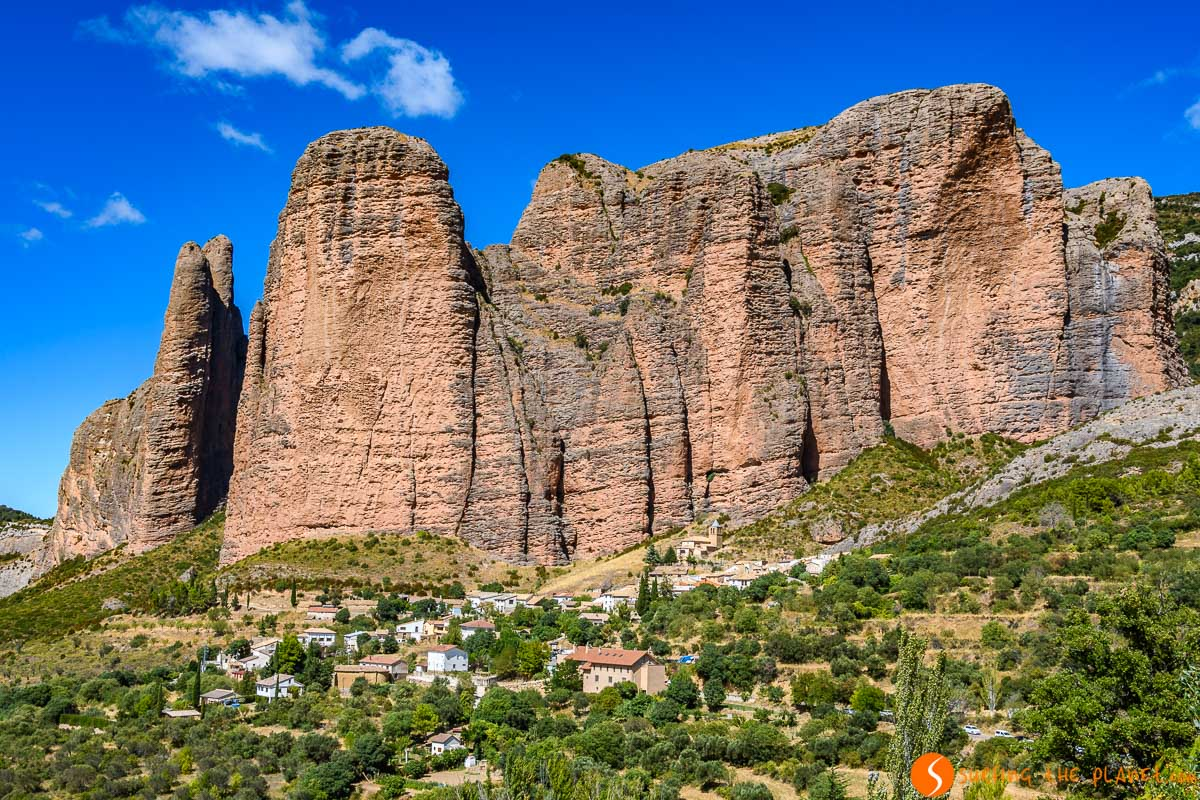 Mallos de Riglos, Huesca, Aragón  Qué visitar en la provincia de Huesca