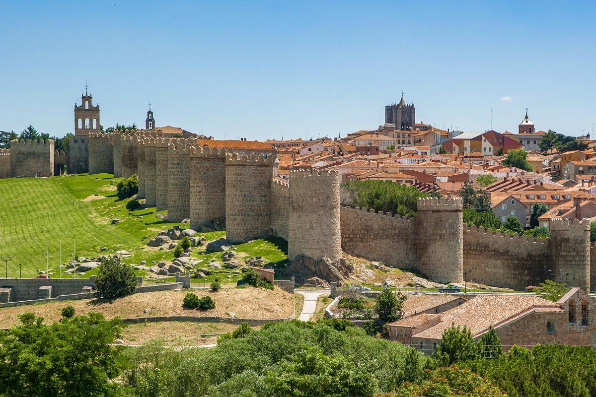 Muralla medieval, Ávila, Castilla y León |Qué ver y hacer en Ávila Provincia