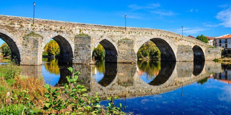 Puente medieval, El Barco de Ávila, Castilla y León