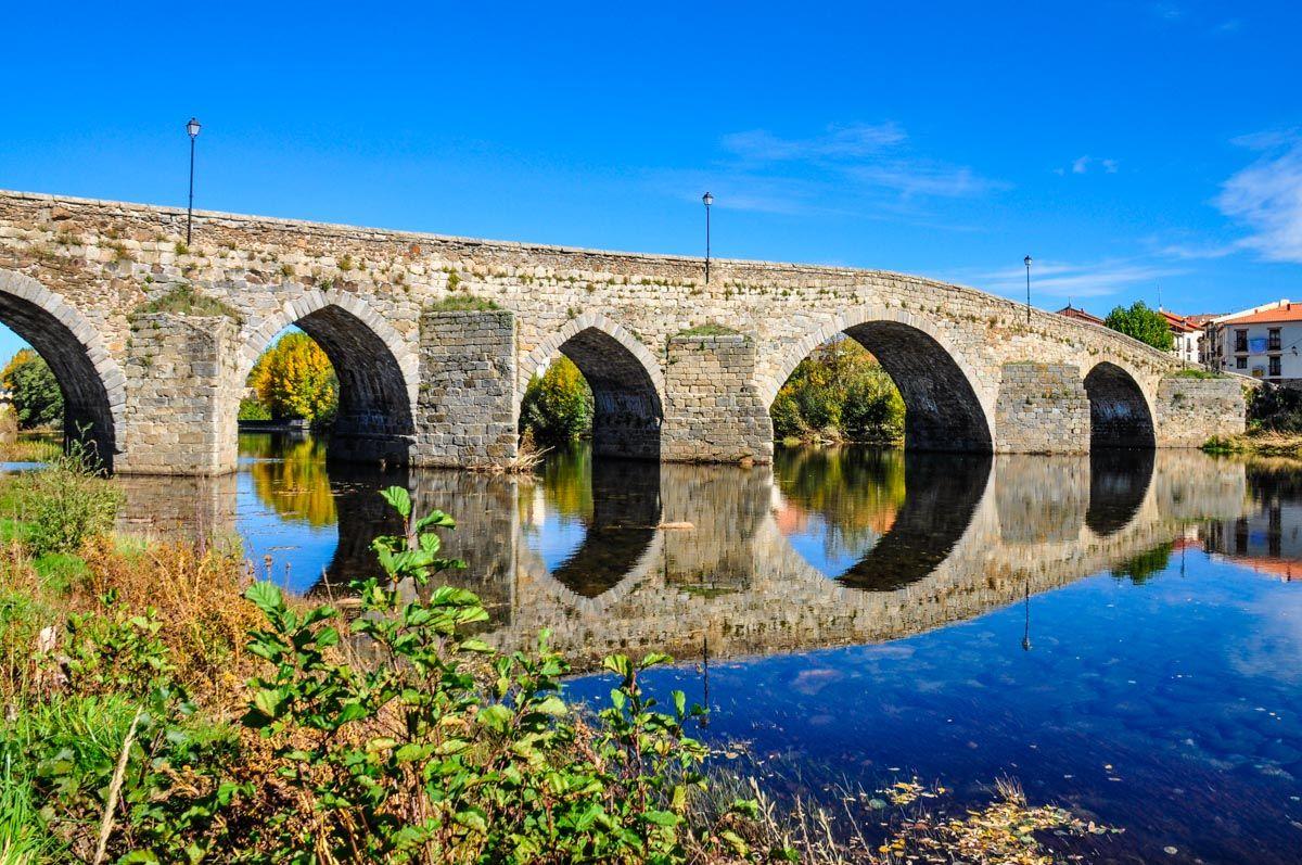 Puente medieval, El Barco de Ávila, Castilla y León |Los pueblos más bonitos de Ávila