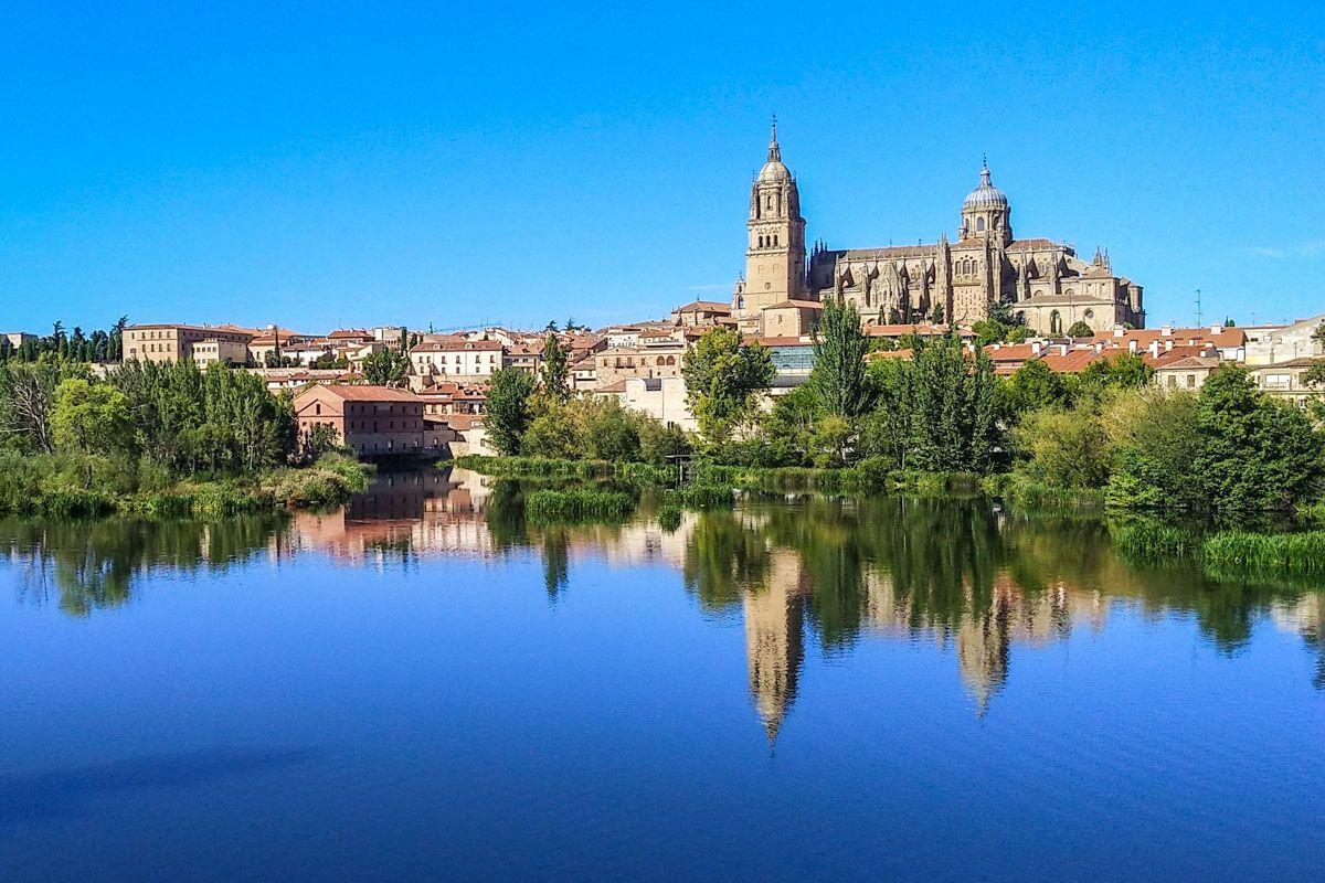 Vistas de Salamanca capital, Castilla y León