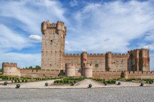 Castilla de la Mota, Medina del Campo, Valladolid, Castilla y León