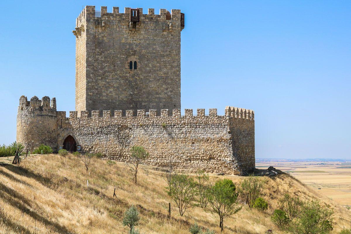 Castillo de Tiedra, Valladolid, Castilla y León