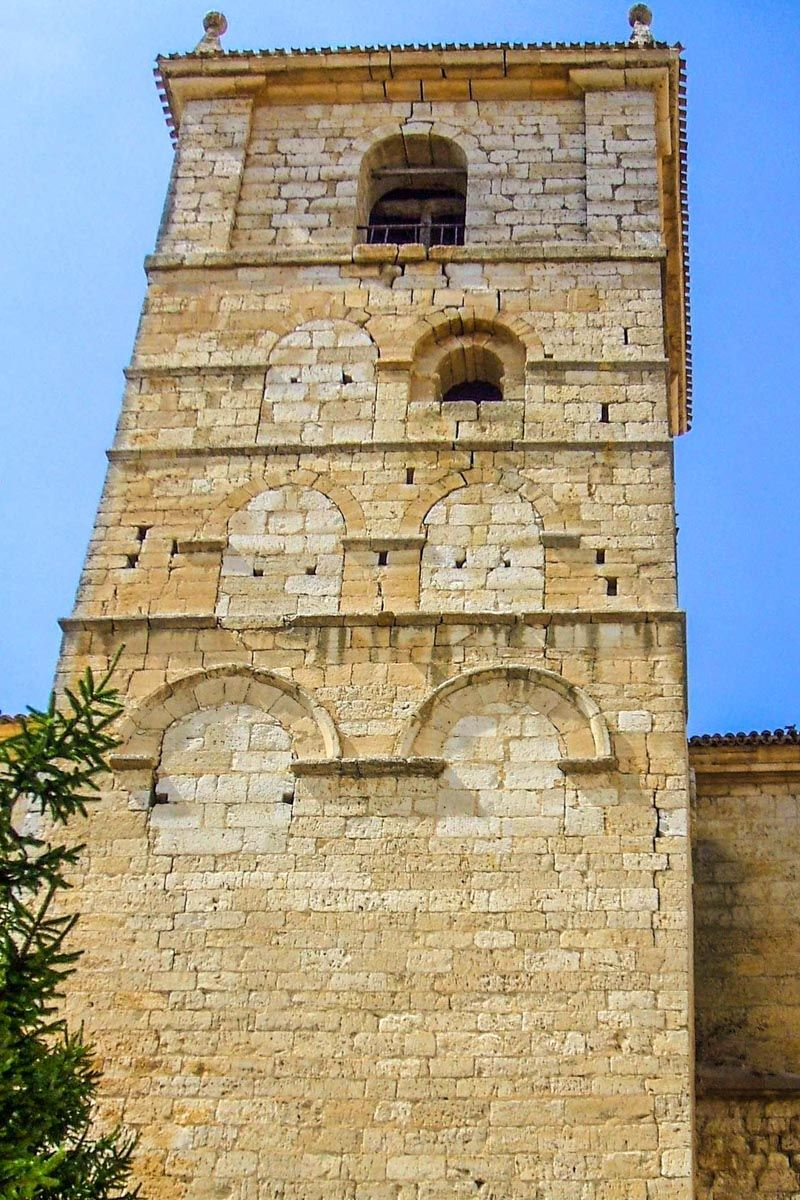 Iglesia Santa Eugenia, Astudillo, Palencia, Castilla y León